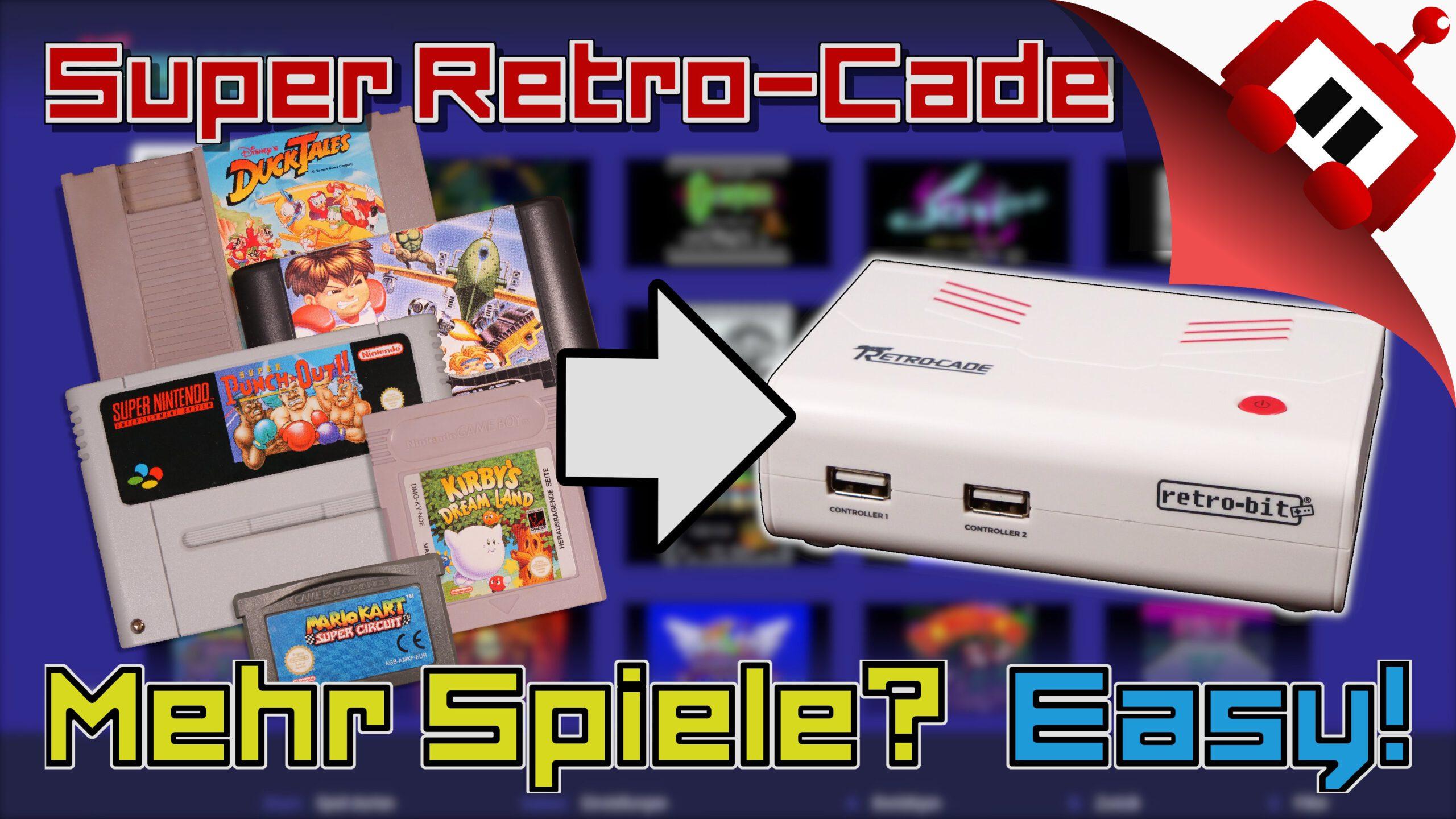 Super Retro-Cade Emulation